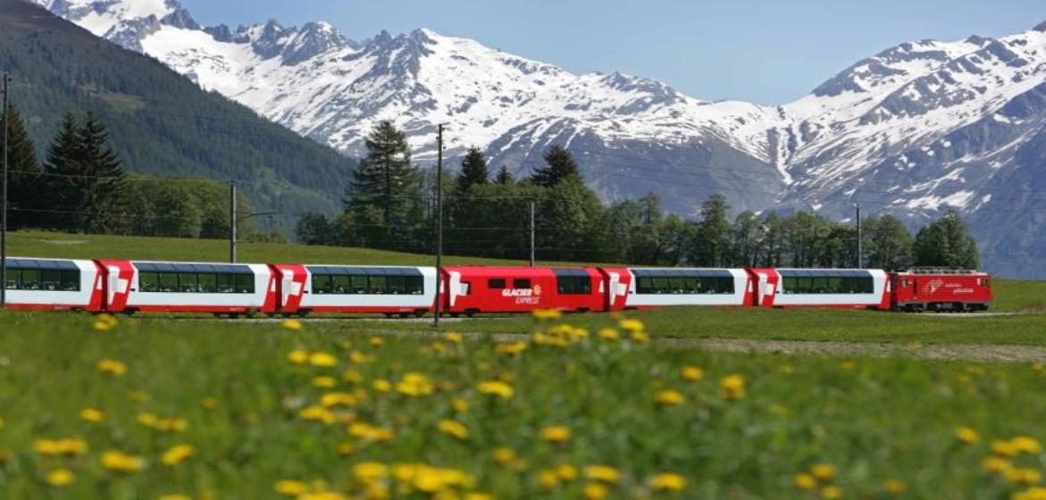 8-daagse treinreis door Zwitserland